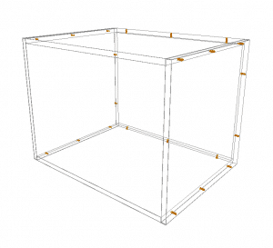 Flexipanel - Microwave Wall Cabinet