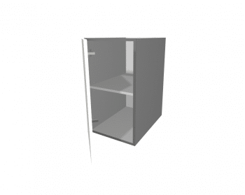 White Gloss - 1 Door Wall Cabinet