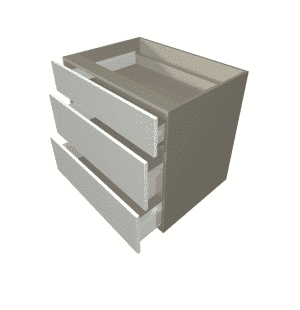 Drawer Cabinets - White Gloss