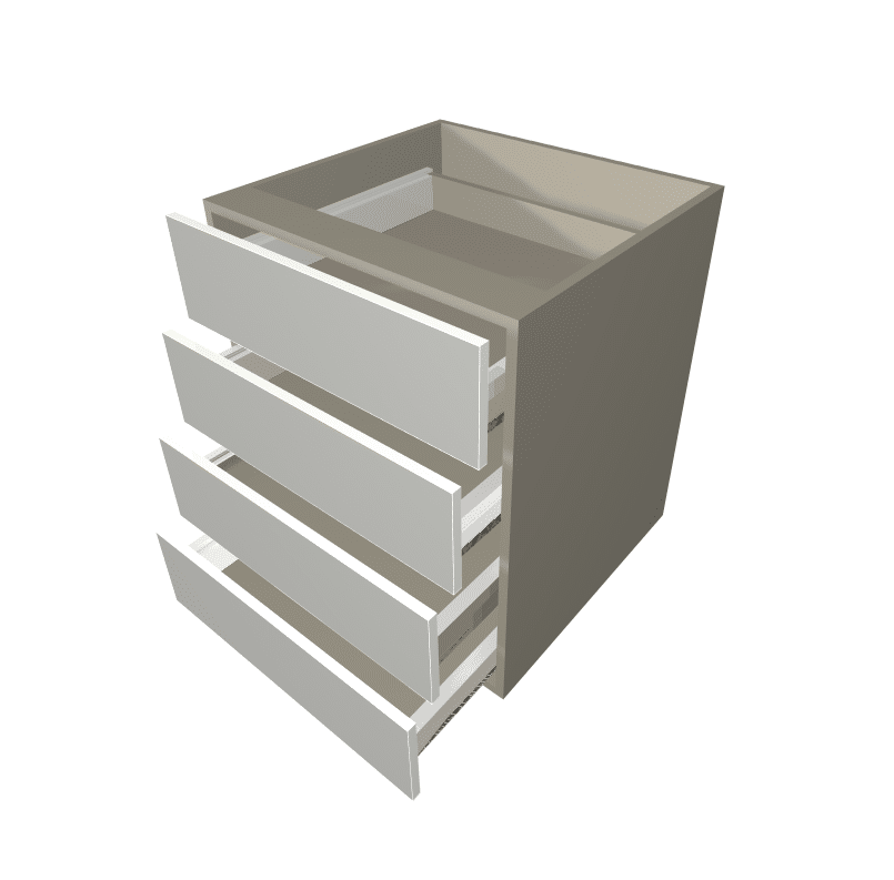 Budget - 4 Equal Drawer Base Cabinet