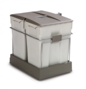Pullout Bins RP550 2 x 35 Litres