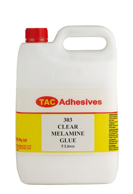 Adhesive TAC Melamine - PVA Clear 5 Litre