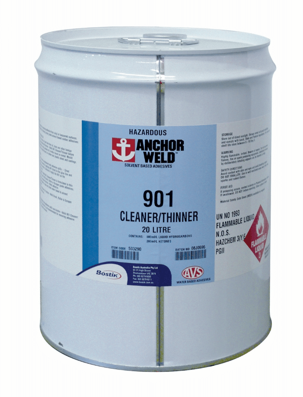 Thinner - Spray Contact - Anchorweld 901 Cleaner, 20L