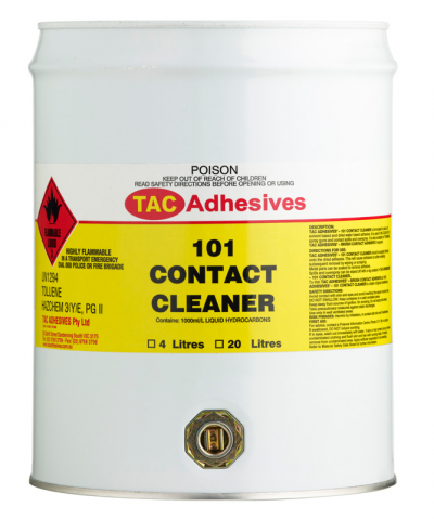 Quick kitchens contact cleaner thinners