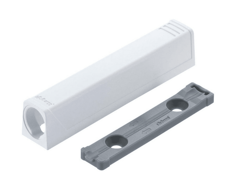 TIP-ON Adapter for doors - White - 50mm