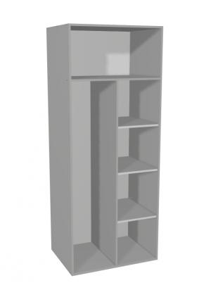 Flexipanel - Tall 2 Door Broom Cabinet