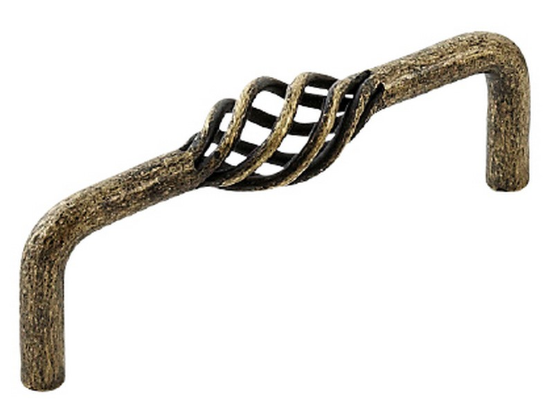 Varese D handle Antique Brass