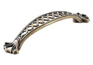Royale Bow Handle Antique Brass