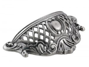Royale Curved Cup Pull Pewter