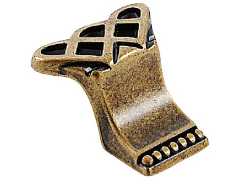 Sovereign Knob Antique Brass
