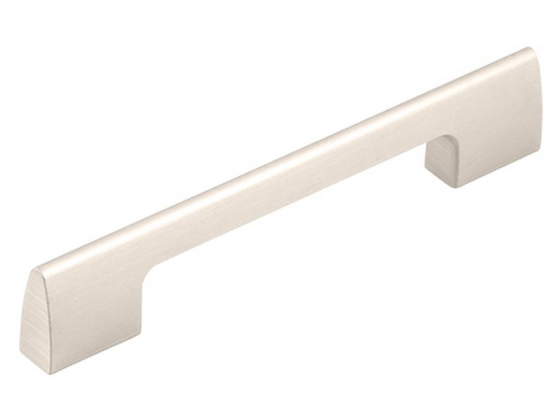 Vieste D Handle Aluminium Brushed Nickel