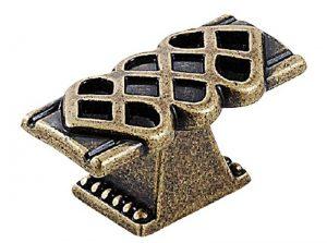 Sovereign T Knob Antique Brass
