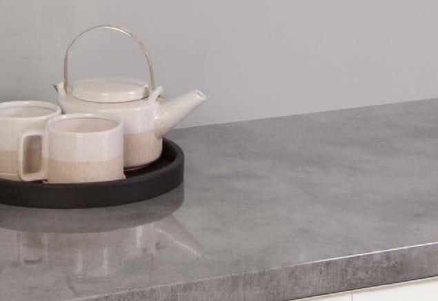 Laminate Benchtop - Nikpol Cemento